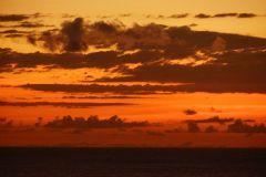 Sunset over Barbados