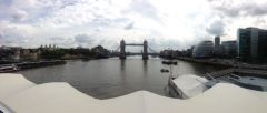 View of London Bridge from Silver Wind