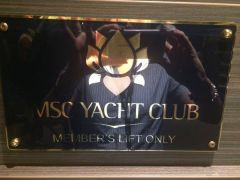 MSc Yacht Club - ship within a ship